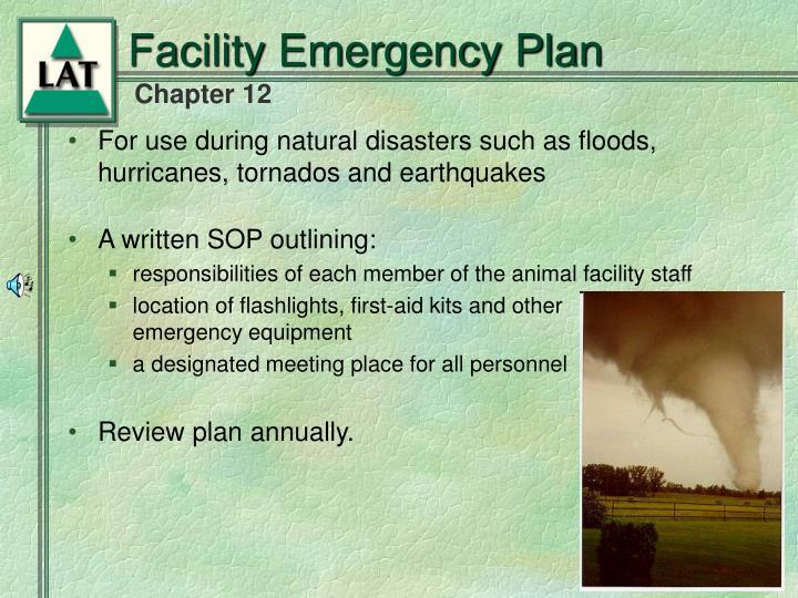 Facility Emergency Plan
