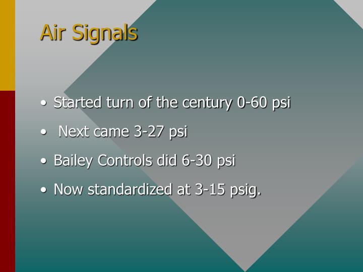 Air Signals