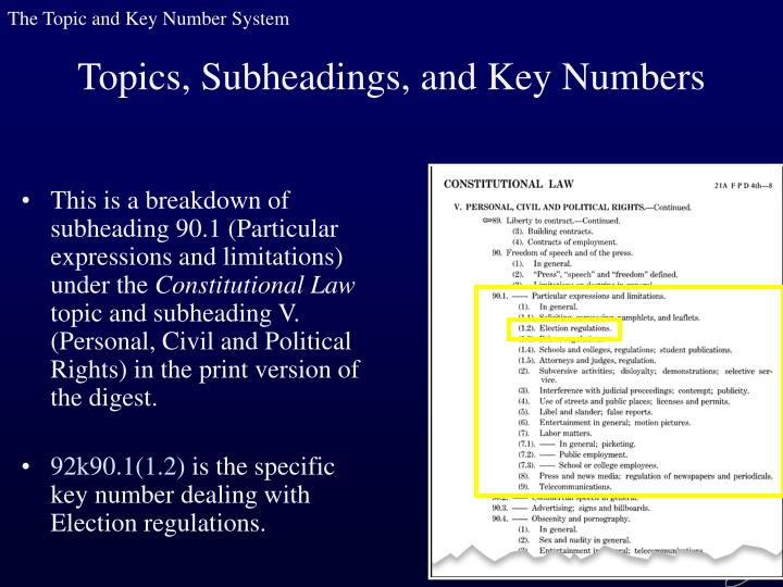 This is a breakdown of subheading 90.1 (Particular expressions and limitations) under the