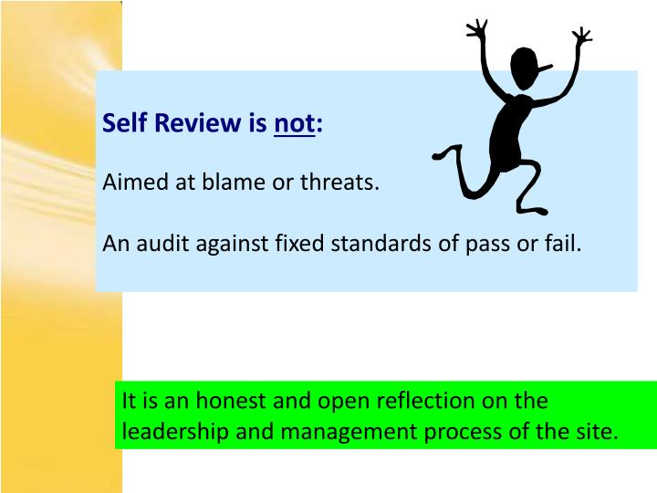 Self Review is