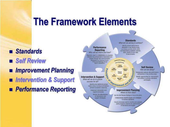 The Framework Elements