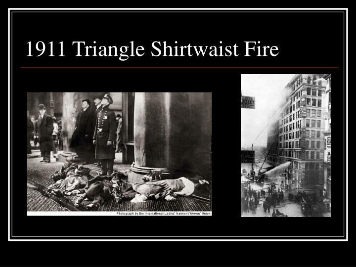 1911 Triangle Shirtwaist Fire