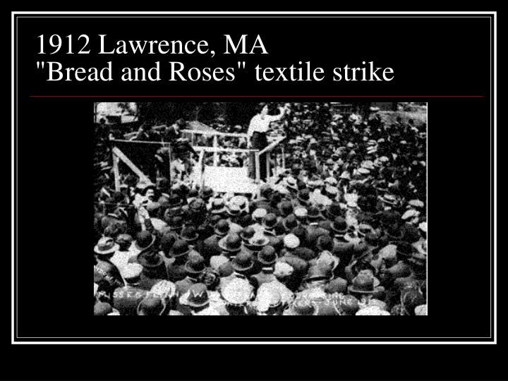 1912 Lawrence, MA