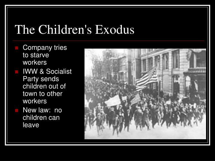 The Children's Exodus