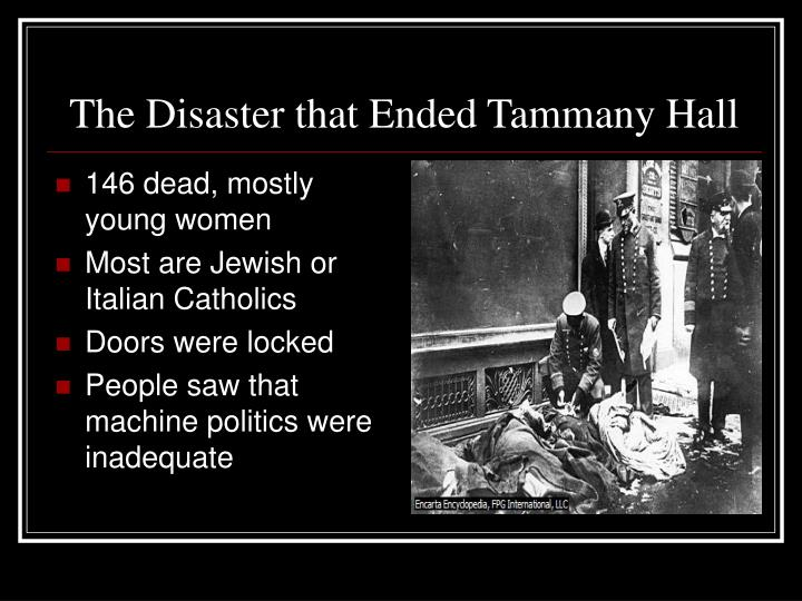 The Disaster that Ended Tammany Hall