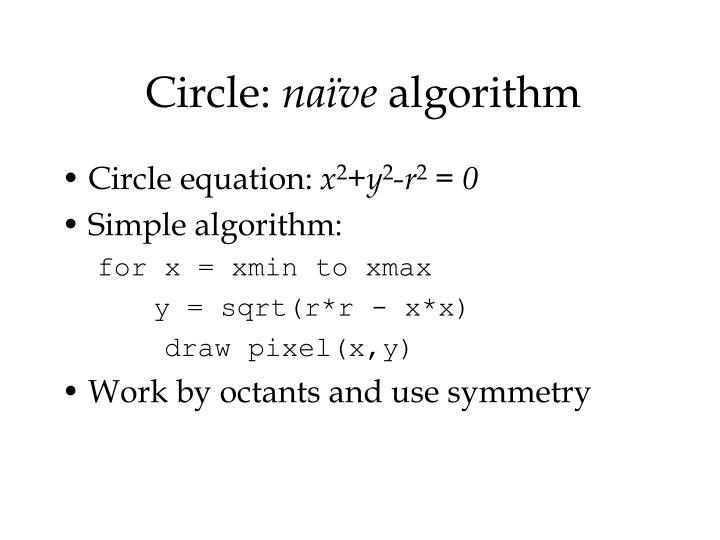 Circle: