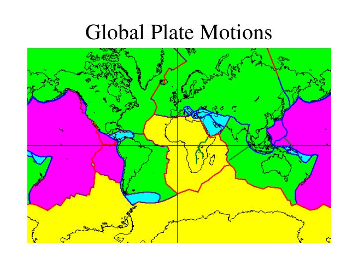 Global Plate Motions