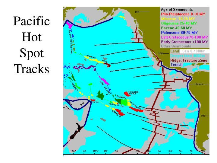 Pacific Hot Spot Tracks