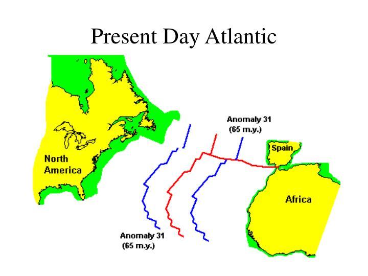 Present Day Atlantic