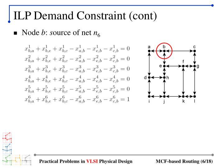 ILP Demand Constraint (cont)