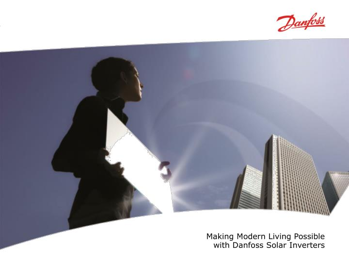 Making Modern Living Possible