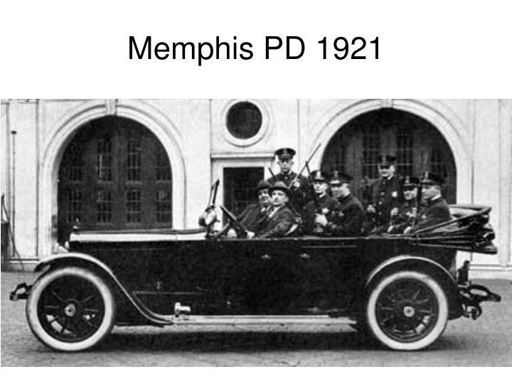 Memphis PD 1921