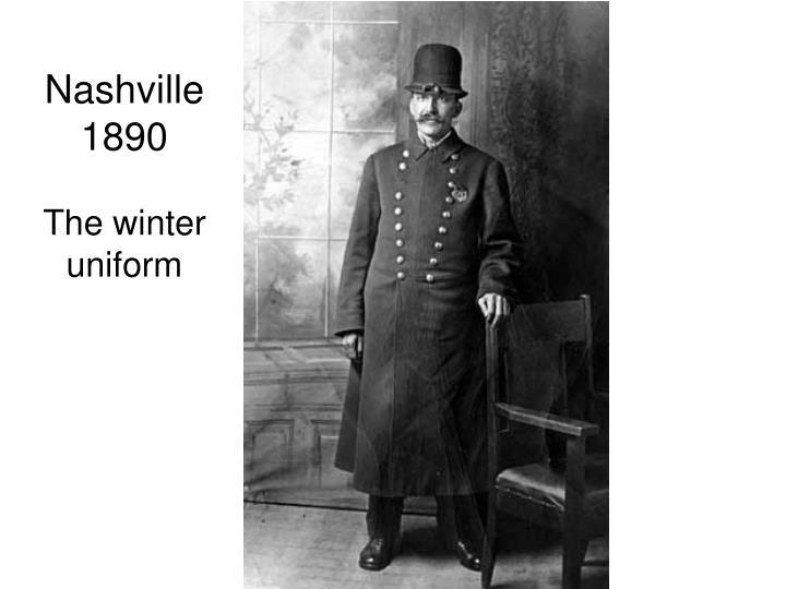 Nashville 1890