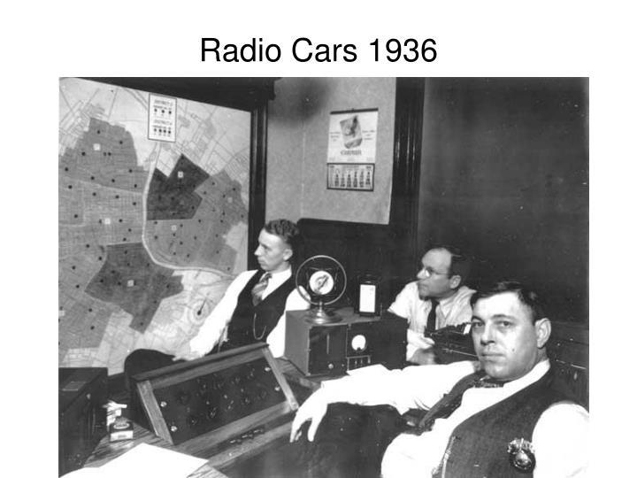 Radio Cars 1936