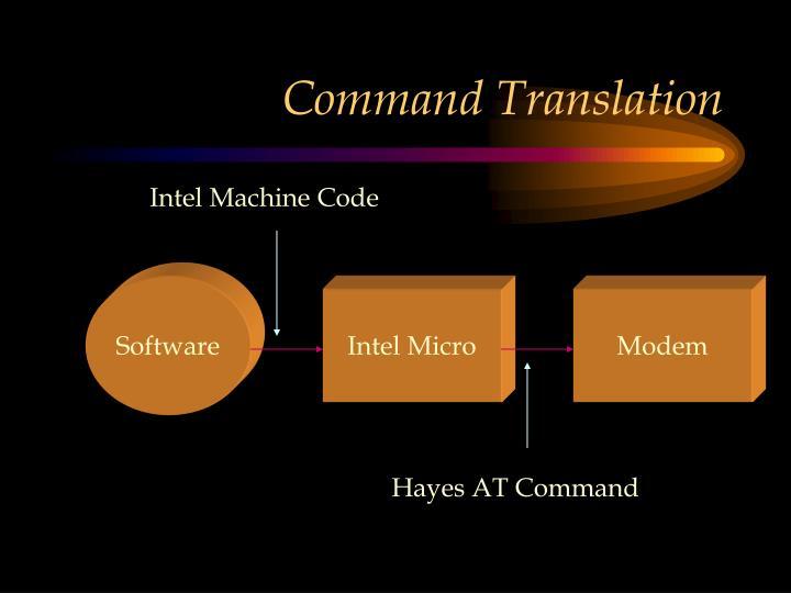 Command Translation