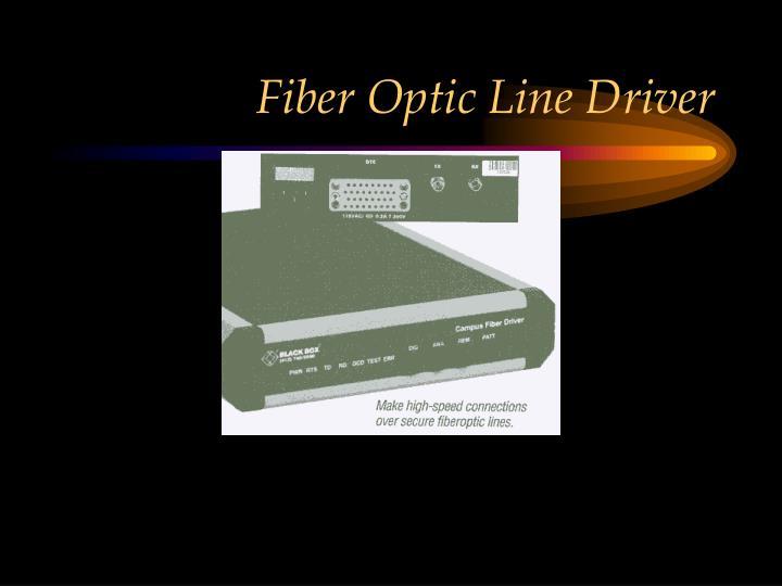 Fiber Optic Line Driver