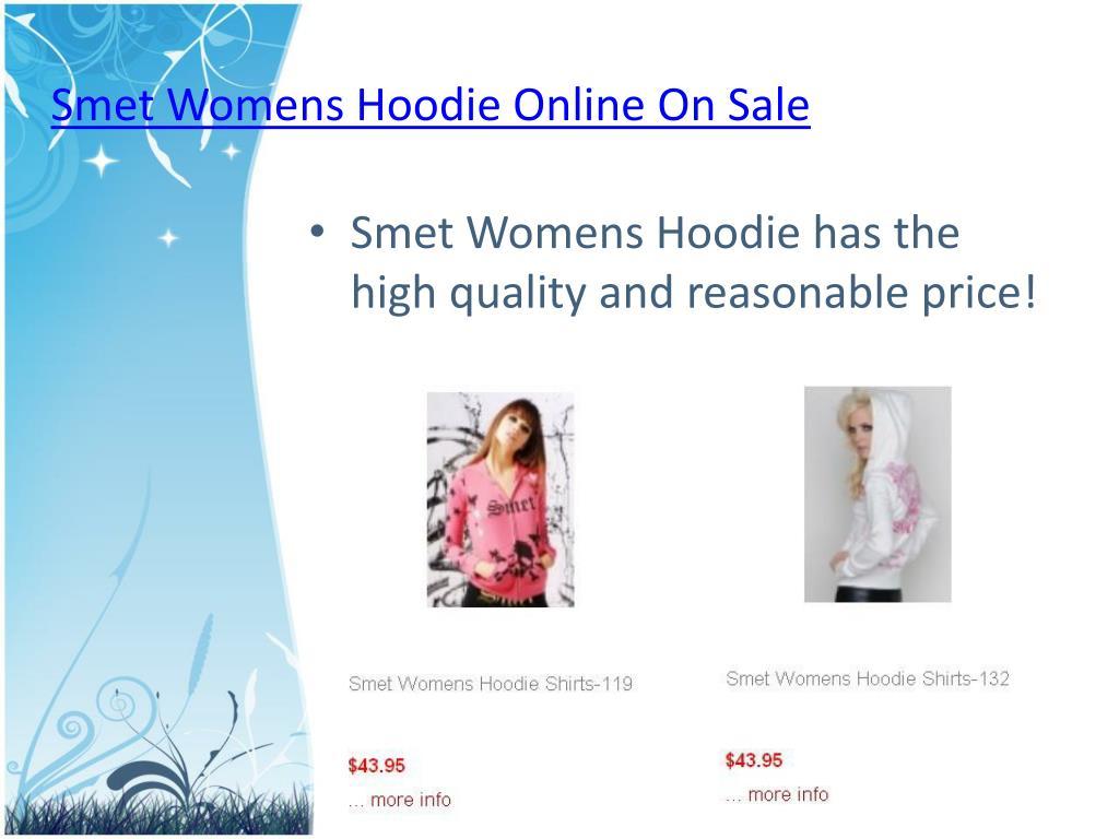 Smet Womens Hoodie Online On Sale