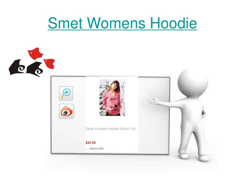 Smet Womens Hoodie