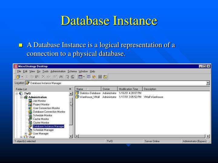 Database Instance