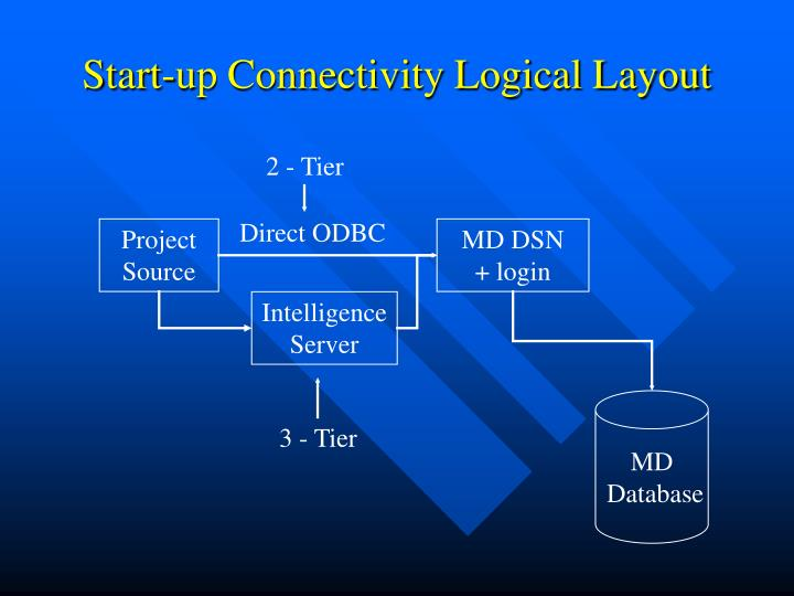Start-up Connectivity Logical Layout