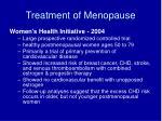 treatment of menopause1