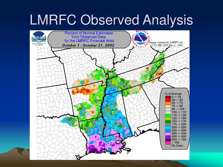 LMRFC Observed Analysis