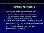technical approach 1
