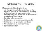 managing the grid