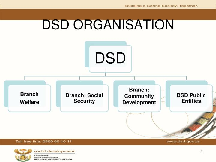 DSD ORGANISATION
