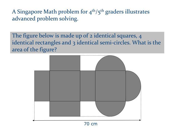 A Singapore Math problem for 4