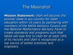 the moonshot