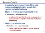 discussion of tradeoffs