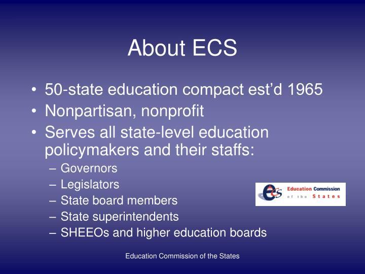 About ECS