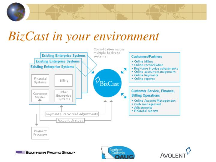 BizCast in your environment