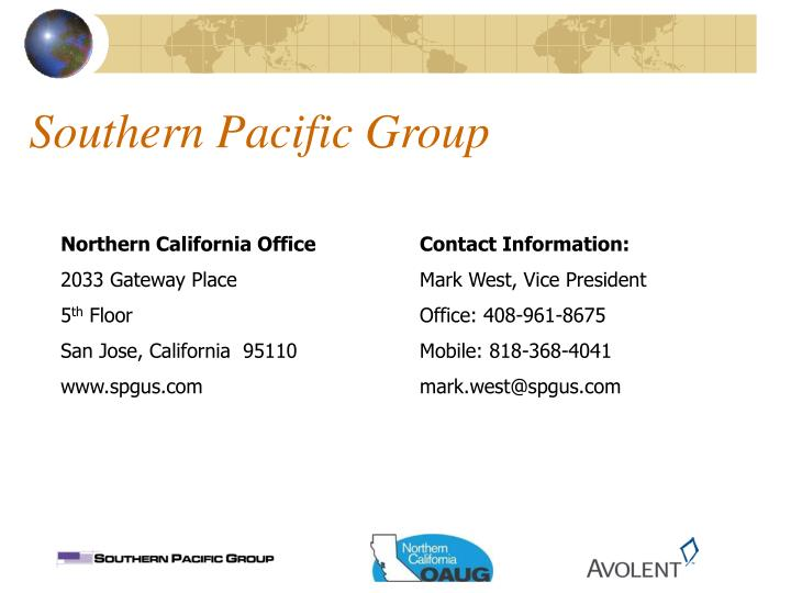Southern Pacific Group