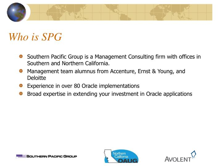 Who is SPG