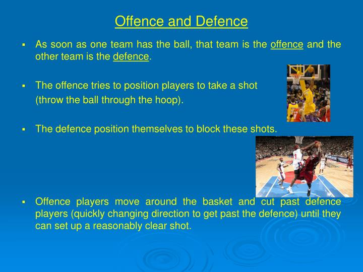 Offence and defence