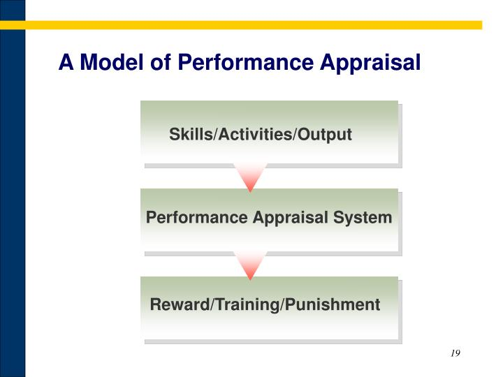 A Model of Performance Appraisal