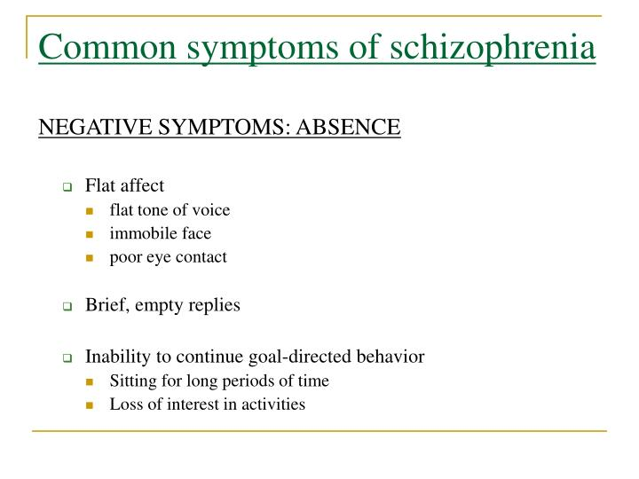a brief overview of schizophrenia Dr nicole meade provides a brief overview of schizophrenia key points include the definition, cause, diagnosis, and treatment of schizophrenia.