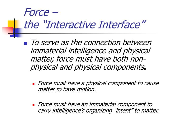 Force –