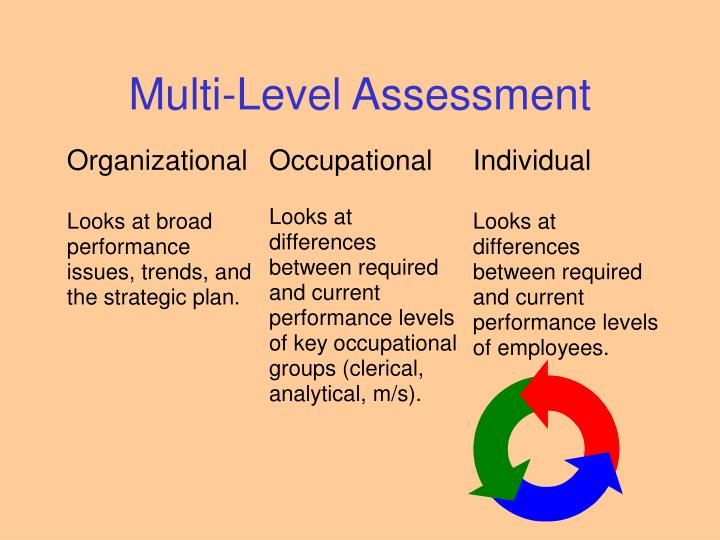 Multi-Level Assessment