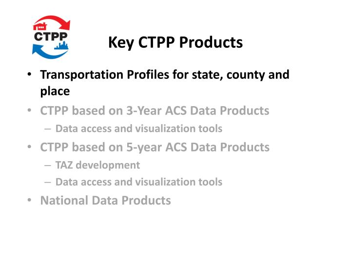 Key ctpp products1
