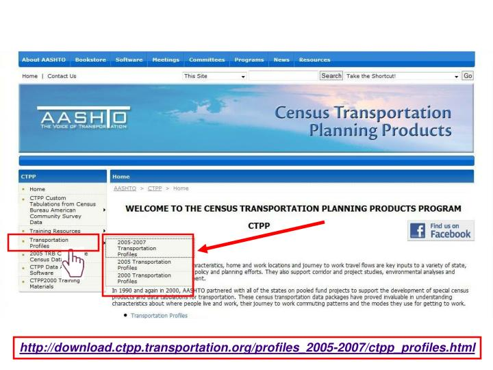 http://download.ctpp.transportation.org/profiles_2005-2007/ctpp_profiles.html