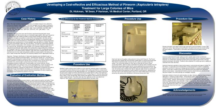Developing a Cost-effective and Efficacious Method of Pinworm
