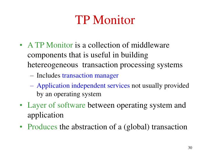 TP Monitor