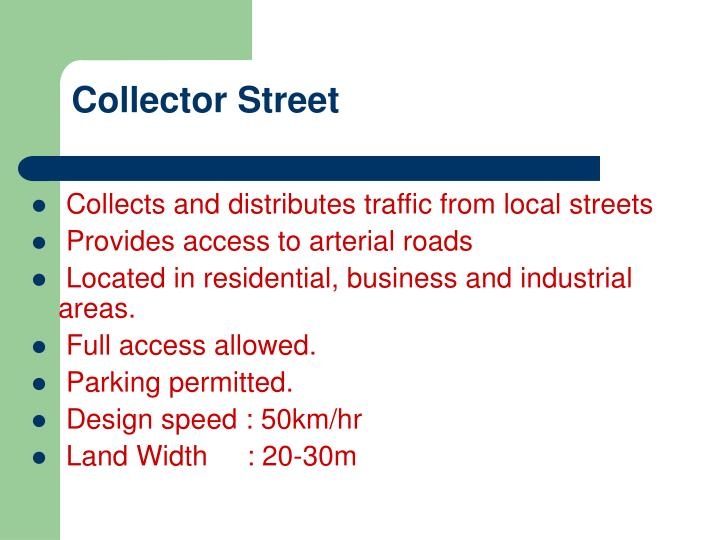 Collector Street