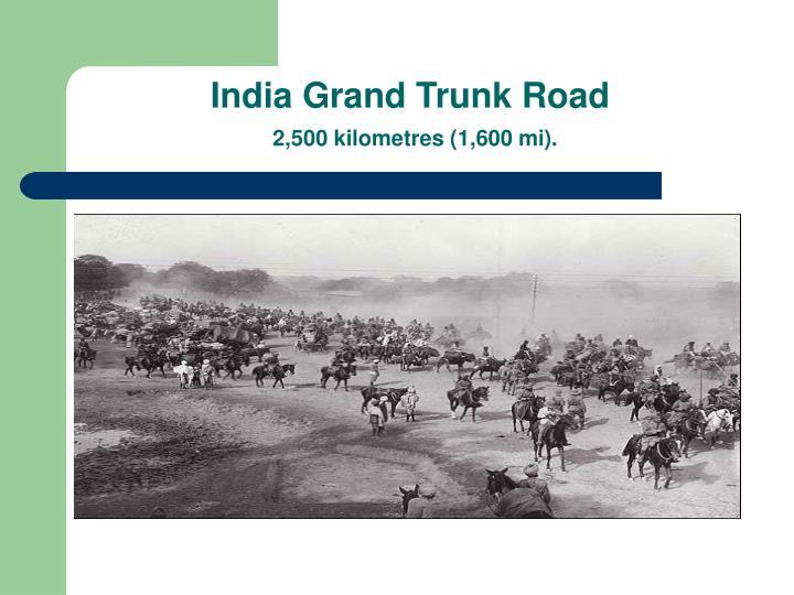 India Grand Trunk Road