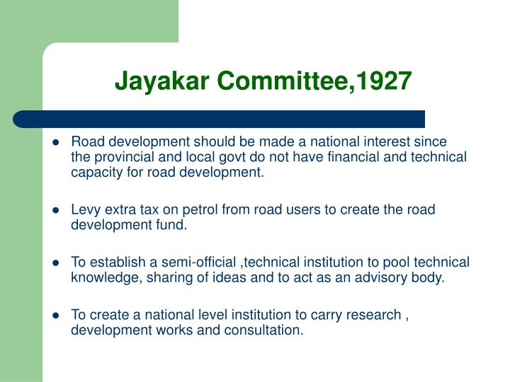 Jayakar Committee,1927