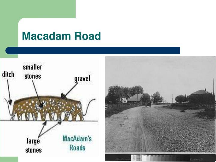 Macadam Road