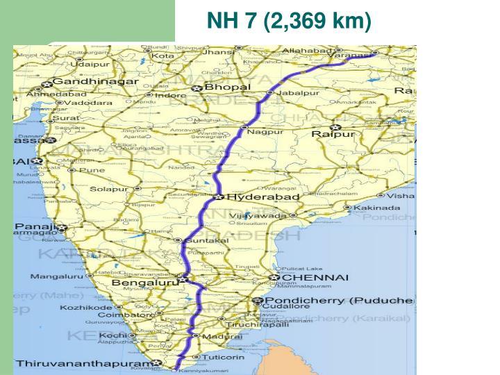 NH 7 (2,369 km)